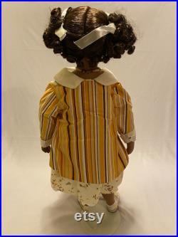 157 Jada Paradise Galleries 24 Tall Porcelain Black African Girl Doll