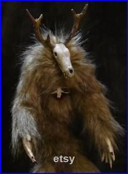 18 Wendigo, poseable Ooak art doll