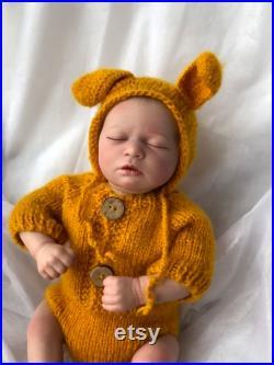 19inch Reborn Baby Dolls, Newborn Sleeping Baby Boy Dolls