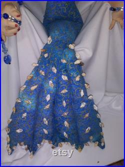 ARIEL Butter Face Friends Doll Mermaid OOAK Doll Art Doll