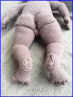 Anatomically correct baby girl doll