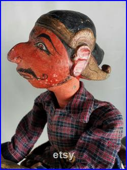 Antique Puppet riding Donkey