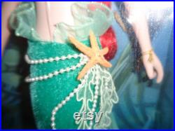 Ariel Porcelain Keepsake Doll NIB Disney