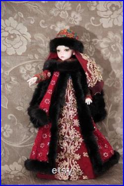 BJD doll authoring. Old Russian Princess Olga.