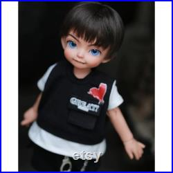BJD male Fantasy Doll full set Ahan 1 6 body Ball jointed dolls Art doll accessories Resin Toys for Kids Surprise Gift Birthday Tiny Cute