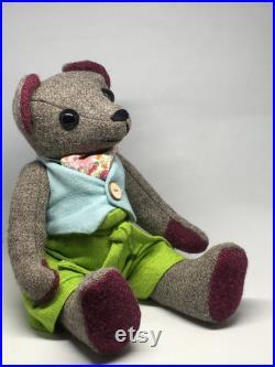 Babby Lakins Herdwick clothed teddy bear
