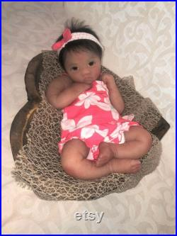 Baby Silicone Full Body Silicone 22 Baby Girl Doll Alana 3