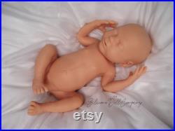 Blank Full Body Ecoflex Silicone Baby Girl Doll The Silicone Doll Company