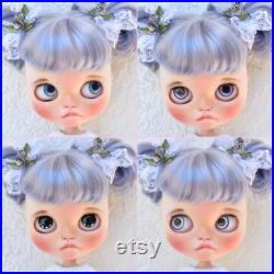Blythe Doll, Custom Blythe, Custom Blythe Doll, TBL Custom Blythe, OOAK Blythe, Kawaii Blythe, Kawaii Doll