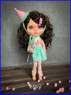 Blythe custom, Blythe doll, Blythe TBL, ooak custom Blythe doll
