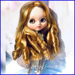 Blythe custom Christine. Art doll. Not for children.