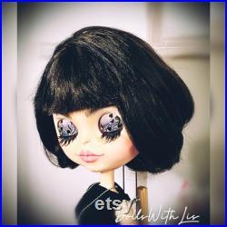 Blythe doll custom. Blythe OOAK. Blythe ART Doll Shadow.
