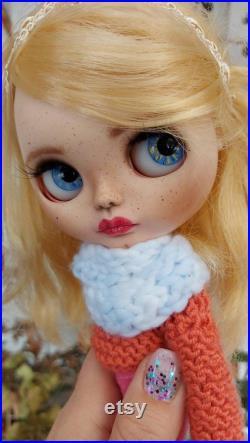 Blythe doll,ooak,Aurora, custom,original blythe doll,art blythe doll ,by janasOOAKblytheDolls, dolls,doll, present