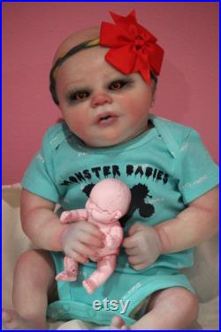 Budget Zombie baby ready to ship by Bean Shanine The Twisted Beanstalk Nursery