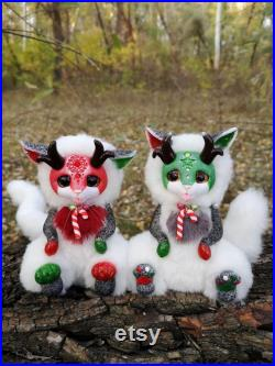 CUSTOM DOLL Fantasy animal Little magical friend Fantasy creature toy Ooak art doll in my OWN author's style