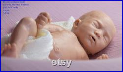 CUSTOM ORDER Silicone baby doll full body sira reborn sweet chocolates extra soft silicone mashmalow