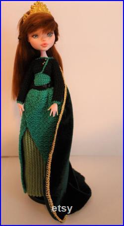 Customization ooak doll of Monster High Anna, Frozen 2