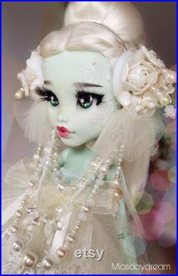 Doll repainted doll large 17 MH doll LAYAWAY payments option is available