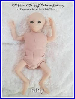 Elara Unpainted Vinyl Doll Kit