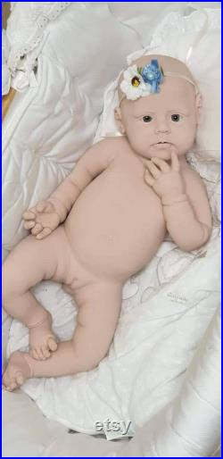 Emilia Full Body Silicone Baby Girl Doll BALD Big Girl