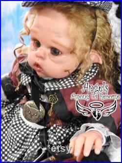 Free shipping SOLE Ofelia Elf Steampunk Reborn Doll Fantasy Baby Alternative