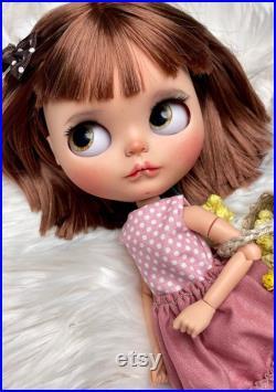 Free shipping, blythe doll, blythe, custom blythe doll, ooak doll, custom doll, blythe, doll