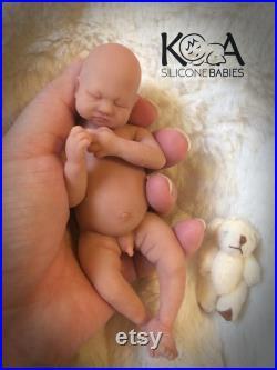 Full Body Mini Silicone Baby Boy Jimmy.