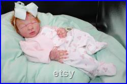 Full bodied silicone baby girl Small newborn large preemie sized baby Custom order Payment plan accepted Please message me first