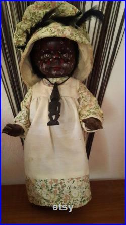 Genuine Vintage Conduit Psychopomp Voodoo Doll, 1960s