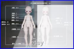 GokiDoll MiaowithMoonto Mini kai Miimy 1 4 BJD Artist Dolll fullset pre-order