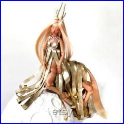 Gold bjd centaur doll