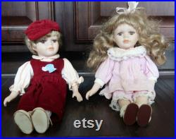 Haunted Doll Spirit Doll Spirit Vessel Doll Spirits Sweet Twins Scottish Bonded Pair Loving Friendly Twins positive spirits Vintage Dolls