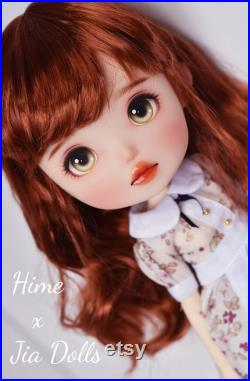 Hime Doll Anne OOAK Himehimedoll Vinyl Toy similar to Blythe Pullip Jerryberry Azone and other fashion dolls