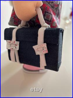 Holiday Girl Soft textile Doll Handmade Craft Art Tilda Doll