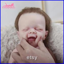 Katie Baby Girl Doll Lifelike Silicone Reborn Baby Doll