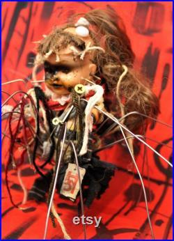 Kitten Original, Detailed and Unique Art Doll