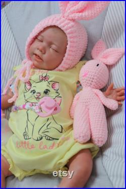 Lifelike Reborn dolls, up to 7lbs Was ELSA . 20 , Gift Bag, full limb Realistic baby, Jointed, bottle, Artist of 9 years SUNBEAMBABIES