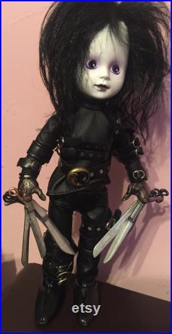 Living Dead Doll- Edward Scissorhands- Signed, Limited Edition of 2000