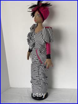 Lupita, OOAK Art Doll by Marlene