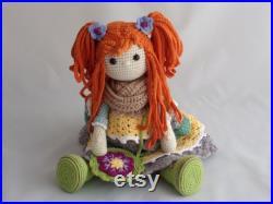 Luxury Amigurumi Crochet Collectable Art Doll, Home Decor, Christmas Toy, Luxury Plush Doll