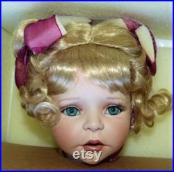 MARIE OSMOND Fine Porcelain Collector Dolls HELENA Christopher Radko Ornament Quite A Pair 04986 17,500 CoA