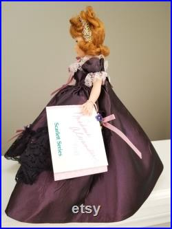 Madame Alexander 10 Belle Watling Scarlett Series 1104 RARE New with Stand and Wrist Tags Gone with the Wind