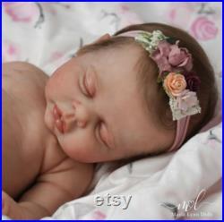 Maria Lynn Dolls Full Body Solid Silicone Reborn Prototype Baby Girl Johnnie