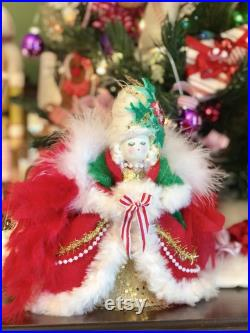 Marie Antoinette doll Marie ornament vintage retro inspired holiday doll Paris France queen ornament sugar cookie doll toni kelly