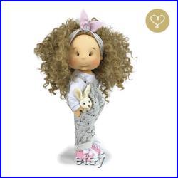 Melody 16 (40 cm) Handmade Fabric Doll by Katarzyna Skorupa