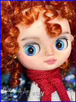 Middie Blythe doll custom Candy girl.Art doll.