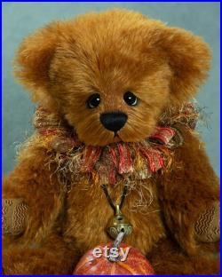 Mohair Artist Bear Vicky Lougher Artist Teddy Bear Artist Bear Teddy Bear Original Collectible