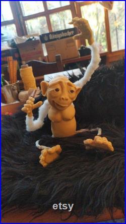 Monkeys hand made
