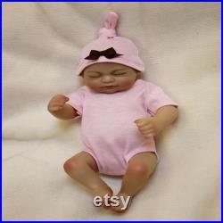 Newborn soft plastic simulation baby doll vinyl rebirth doll recycled doll