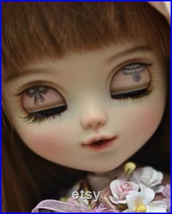 No.112 Pullip Natural skin custom Face-up repaint Doll OOAK